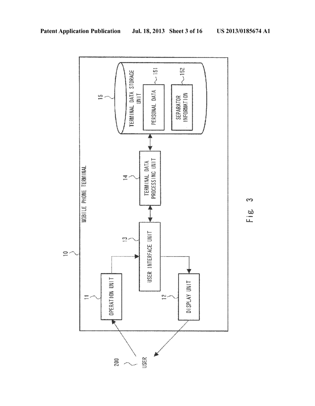 DATA PROCESSING TERMINAL, DATA SEARCH METHOD, AND NON-TRANSITORY COMPUTER     READABLE MEDIUM STORING CONTROL PROGRAM - diagram, schematic, and image 04