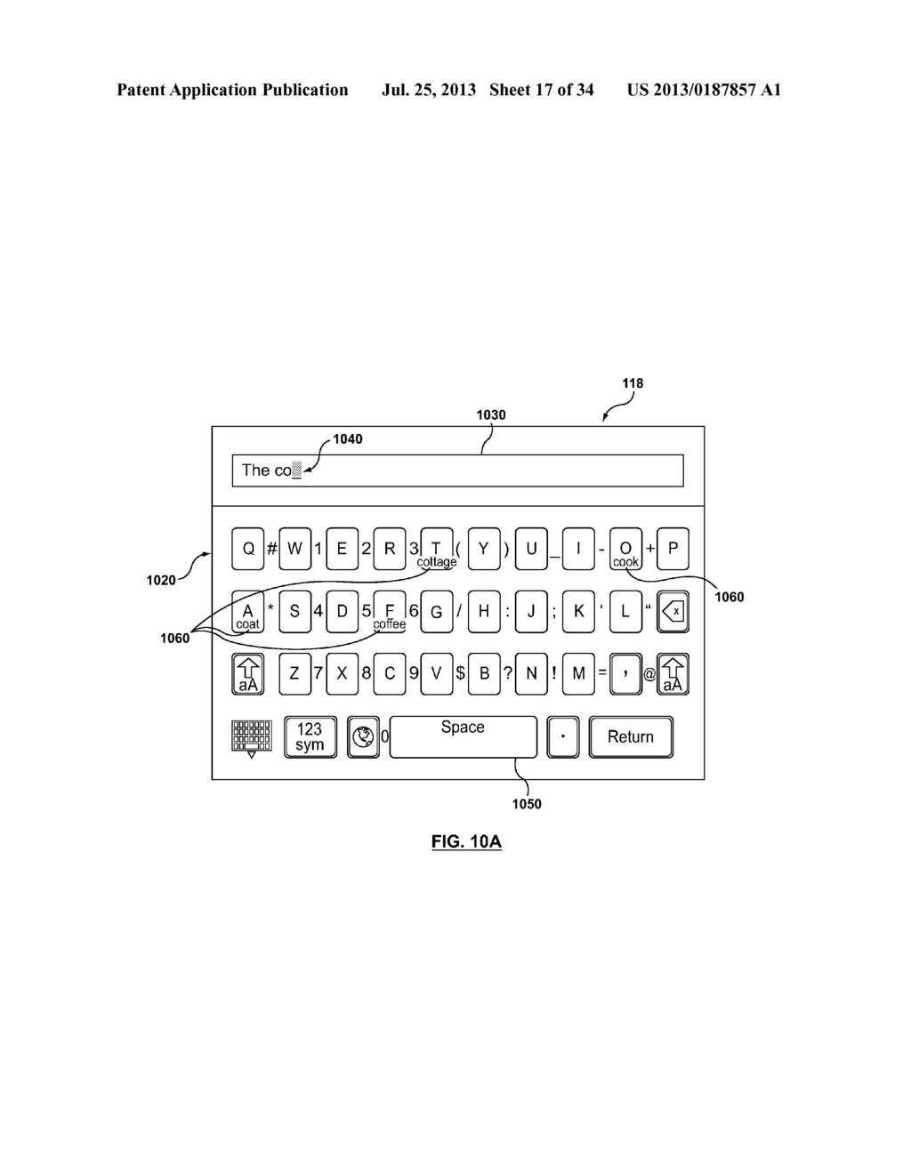 NEXT LETTER PREDICTION FOR VIRTUAL KEYBOARD - diagram, schematic, and image 18