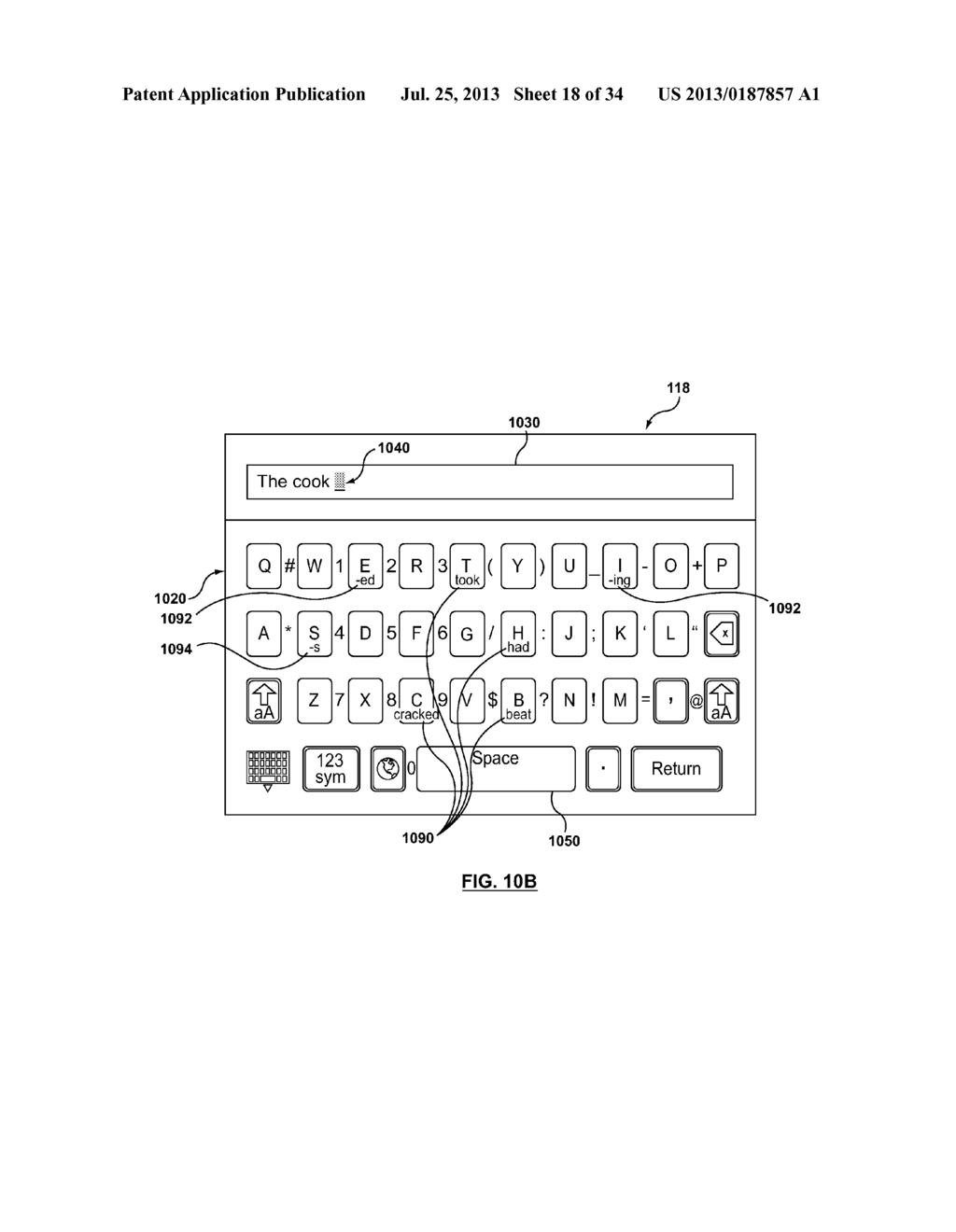 NEXT LETTER PREDICTION FOR VIRTUAL KEYBOARD - diagram, schematic, and image 19