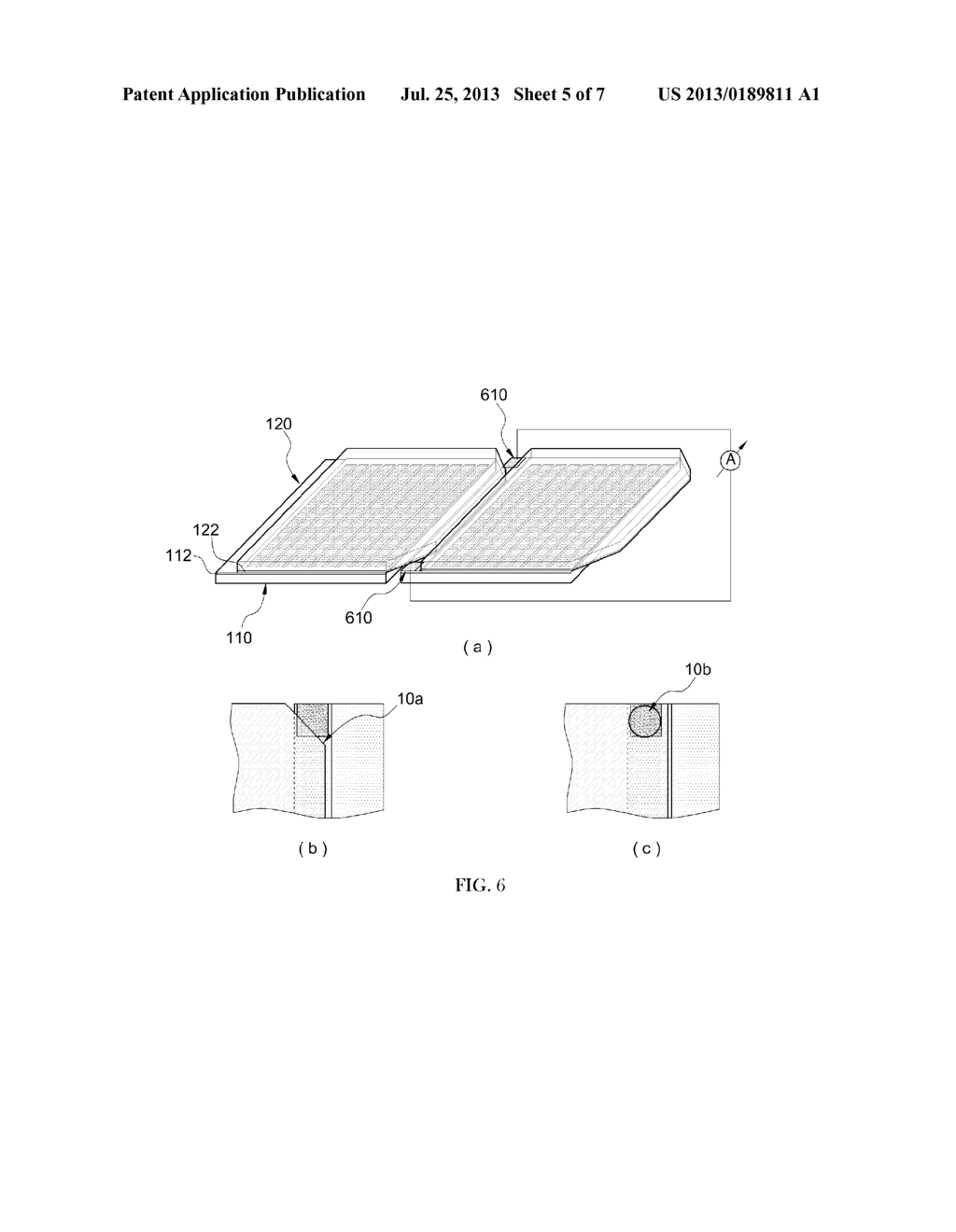 METHOD OF MANUFACTURING DYE SENSITIZED SOLAR BATTERY AND SOLAR BATTERY     ASSEMBLING APPARATUS FOR THE SAME - diagram, schematic, and image 06