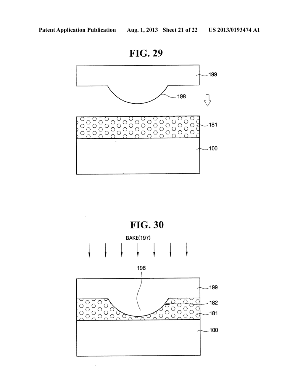 LIGHT EMITTING ELEMENT WITH IMPROVED LIGHT EXTRACTION EFFICIENCY, LIGHT     EMITTING DEVICE COMPRISING THE SAME, AND FABRICATING METHOD OF THE LIGHT     EMITTING ELEMENT AND THE LIGHT EMITTING DEVICE - diagram, schematic, and image 22