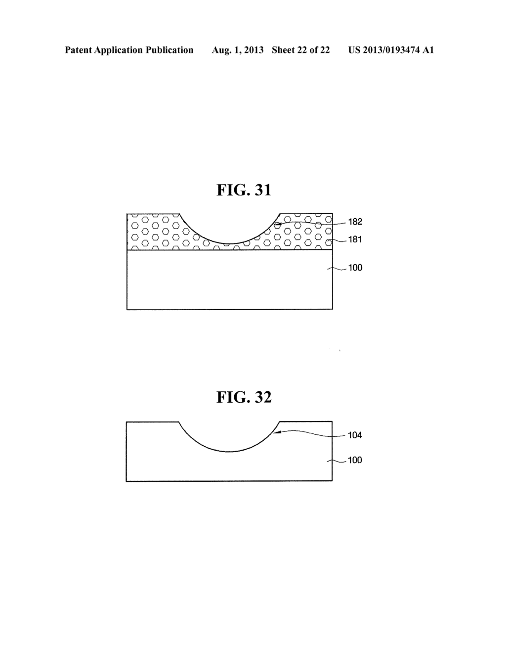 LIGHT EMITTING ELEMENT WITH IMPROVED LIGHT EXTRACTION EFFICIENCY, LIGHT     EMITTING DEVICE COMPRISING THE SAME, AND FABRICATING METHOD OF THE LIGHT     EMITTING ELEMENT AND THE LIGHT EMITTING DEVICE - diagram, schematic, and image 23