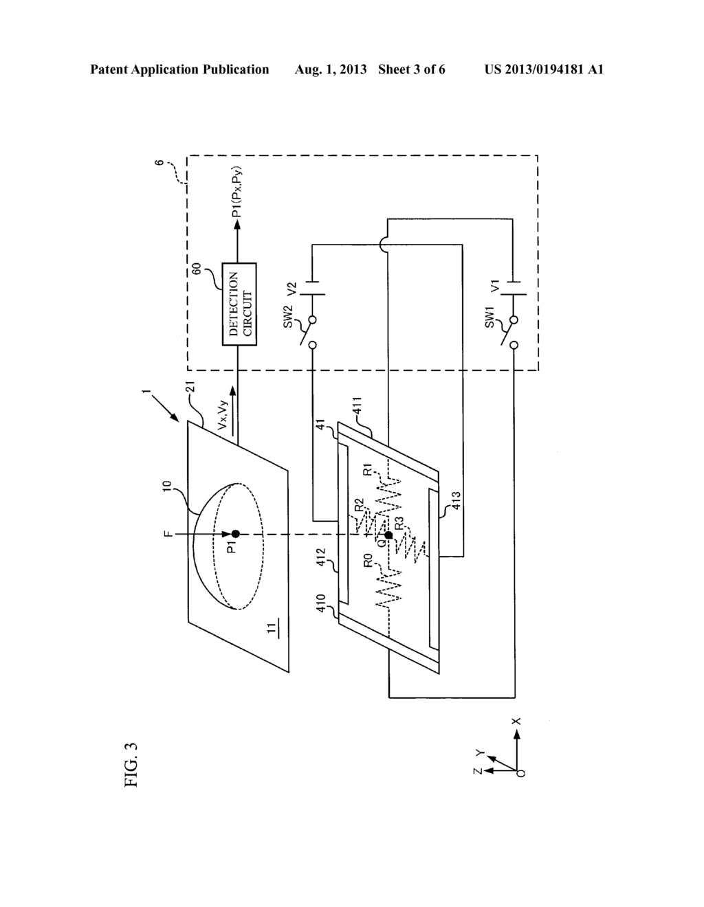 POINTING DEVICE AND METHOD FOR MANUFACTURING POINTING DEVICE - diagram, schematic, and image 04