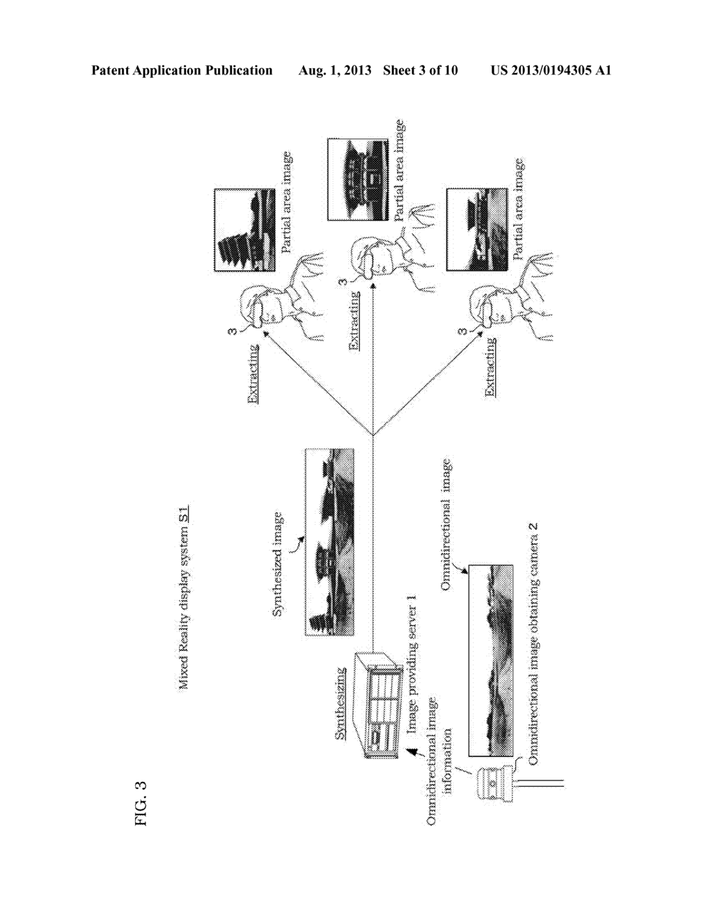 MIXED REALITY DISPLAY SYSTEM, IMAGE PROVIDING SERVER, DISPLAY DEVICE AND     DISPLAY PROGRAM - diagram, schematic, and image 04