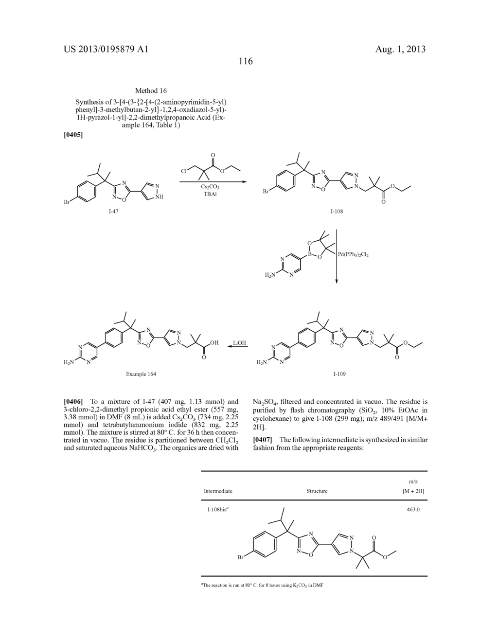 OXADIAZOLE INHIBITORS OF LEUKOTRIENE PRODUCTION FOR COMBINATION THERAPY - diagram, schematic, and image 118