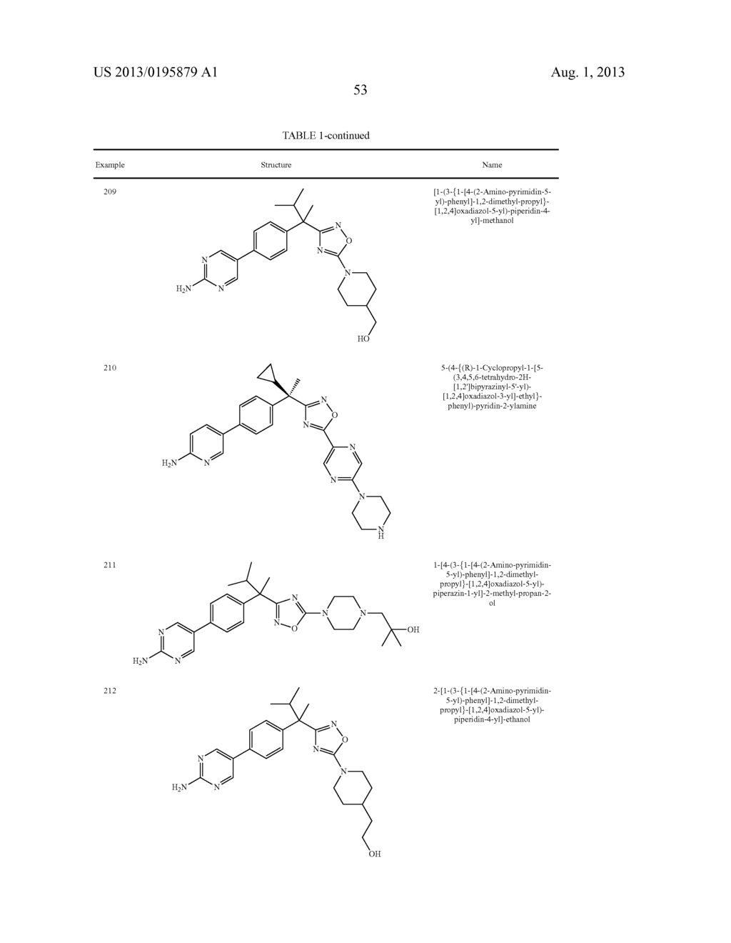 OXADIAZOLE INHIBITORS OF LEUKOTRIENE PRODUCTION FOR COMBINATION THERAPY - diagram, schematic, and image 55