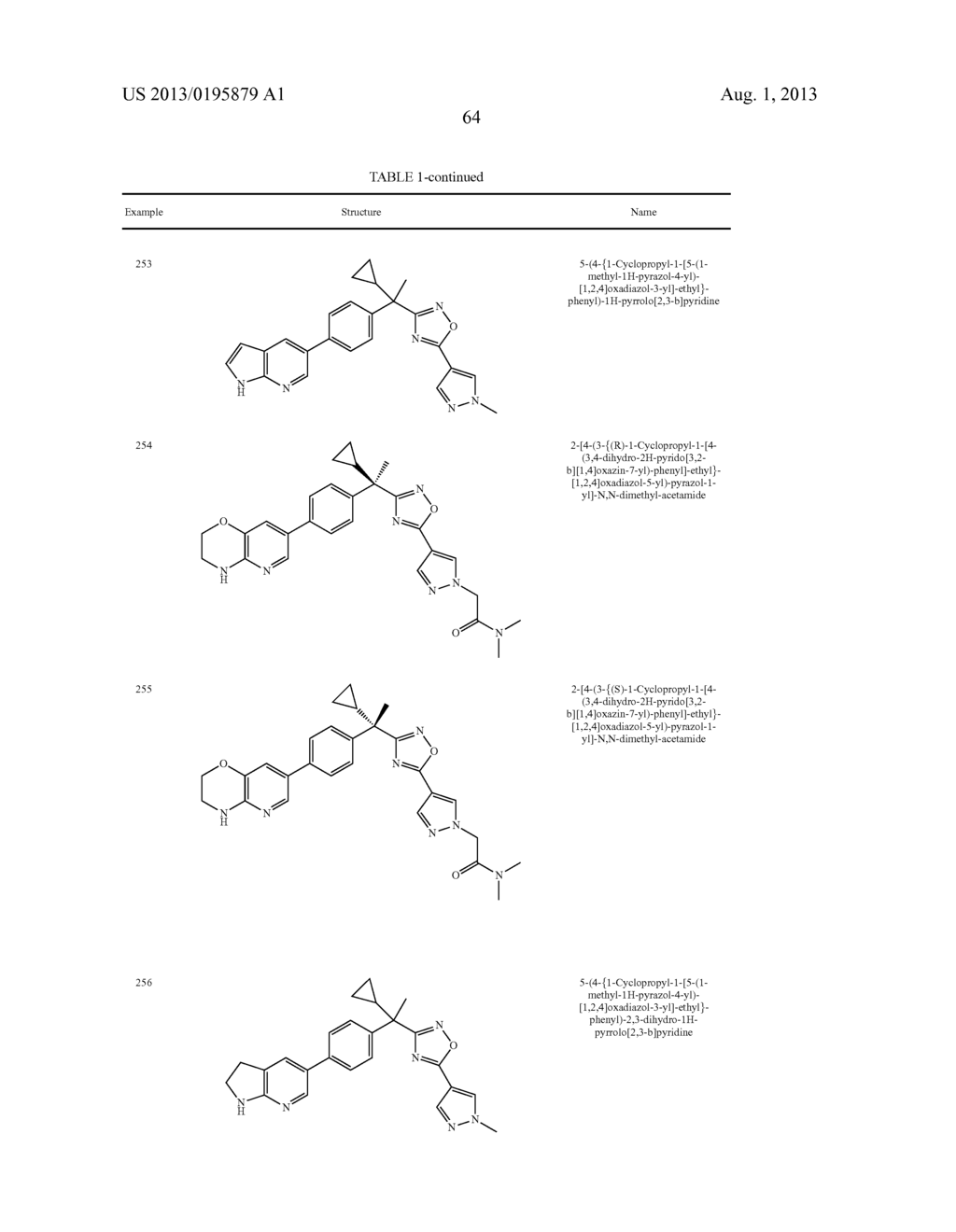 OXADIAZOLE INHIBITORS OF LEUKOTRIENE PRODUCTION FOR COMBINATION THERAPY - diagram, schematic, and image 66