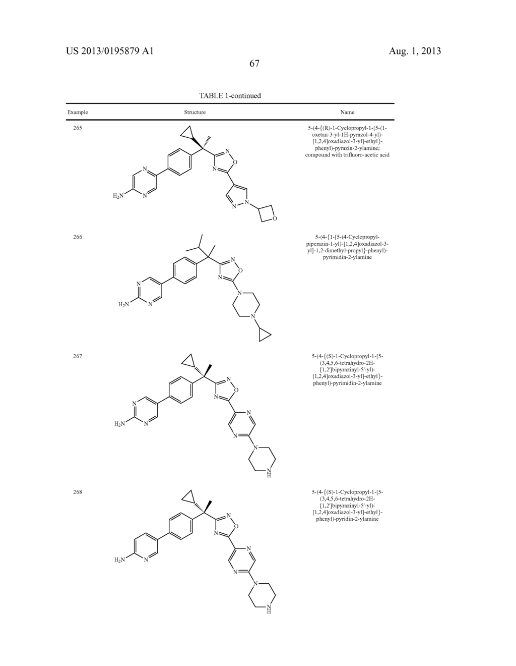 OXADIAZOLE INHIBITORS OF LEUKOTRIENE PRODUCTION FOR COMBINATION THERAPY - diagram, schematic, and image 69