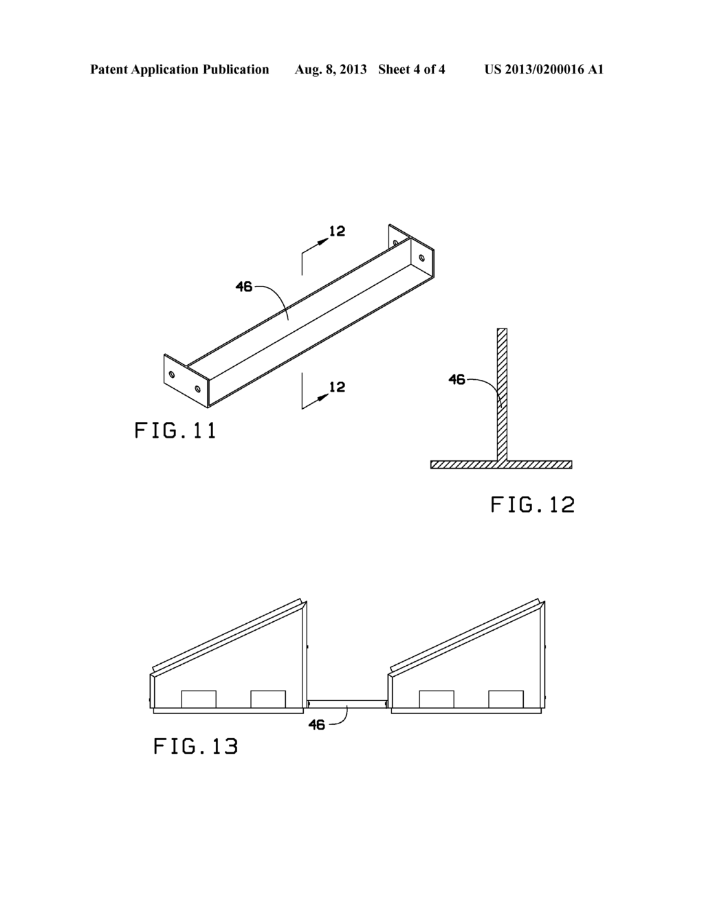 Ballasted Roof And Ground Mounted Solar Panel Racking System Diagram Schematic Image 05