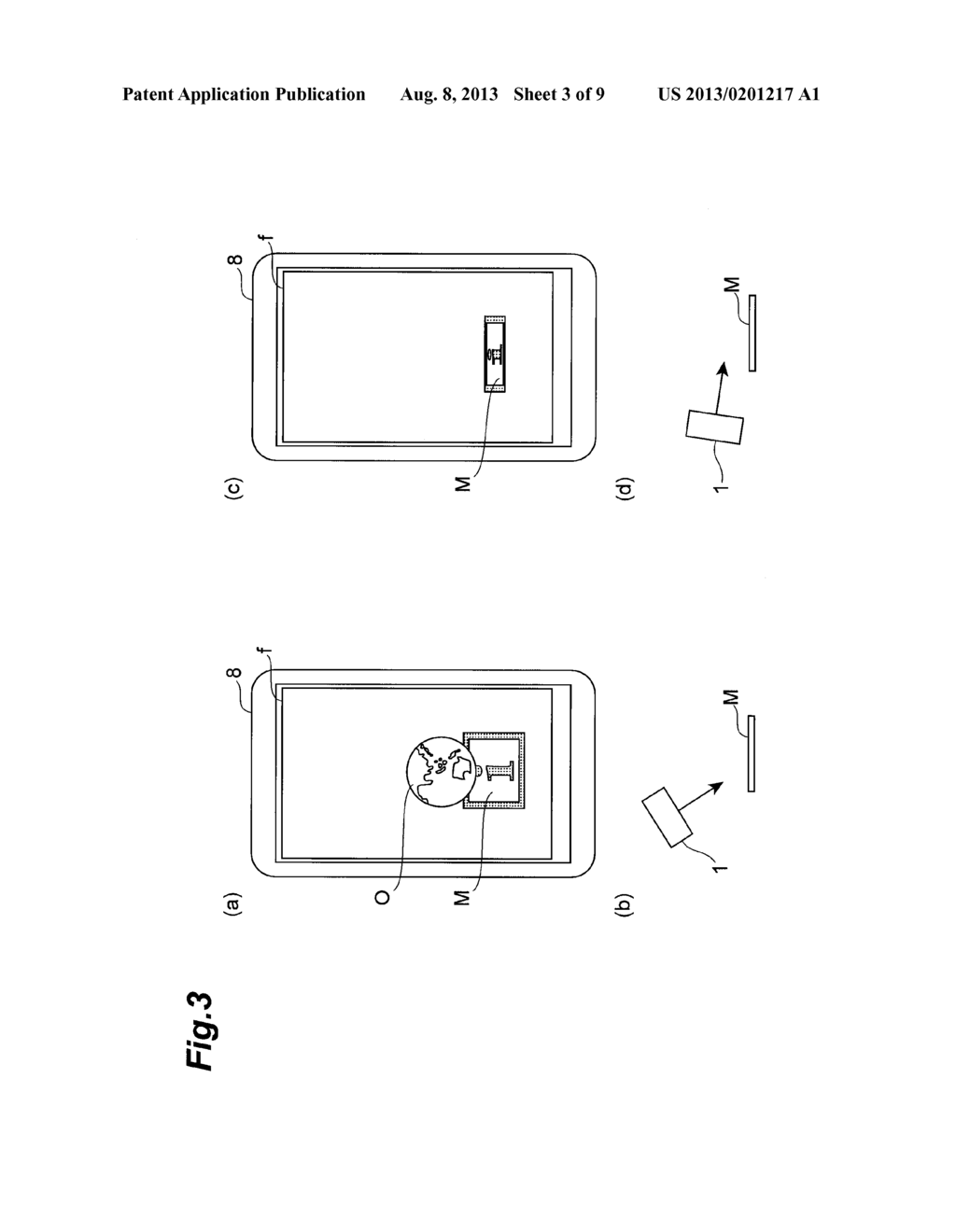 OBJECT DISPLAY DEVICE AND OBJECT DISPLAY METHOD - diagram, schematic, and image 04
