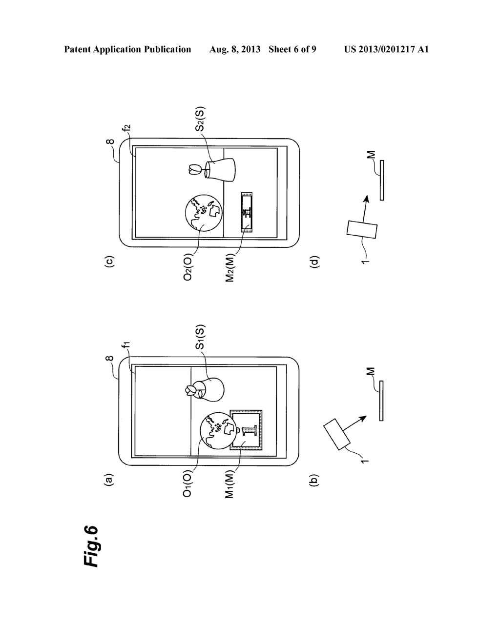 OBJECT DISPLAY DEVICE AND OBJECT DISPLAY METHOD - diagram, schematic, and image 07