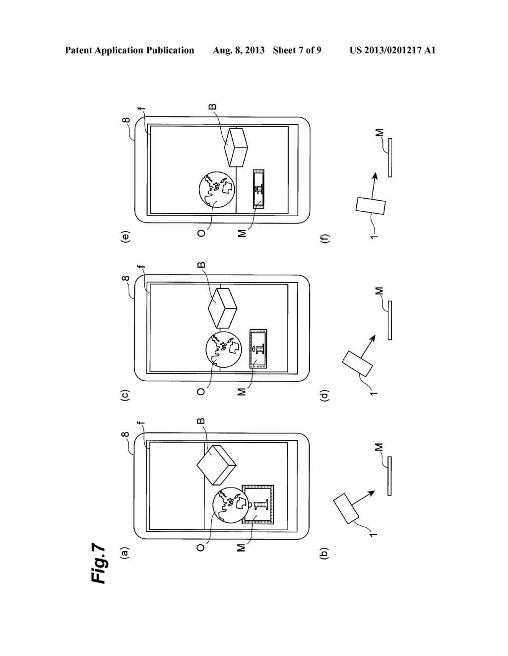 OBJECT DISPLAY DEVICE AND OBJECT DISPLAY METHOD - diagram, schematic, and image 08