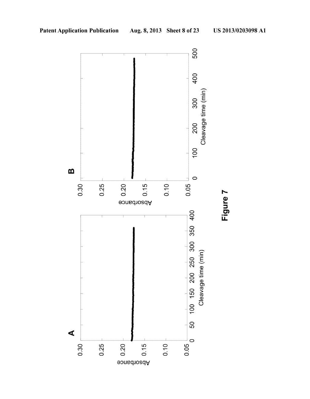 Enzyme Sensors, Methods for Preparing and Using Such Sensors, and Methods     of Detecting Protease Activity - diagram, schematic, and image 09