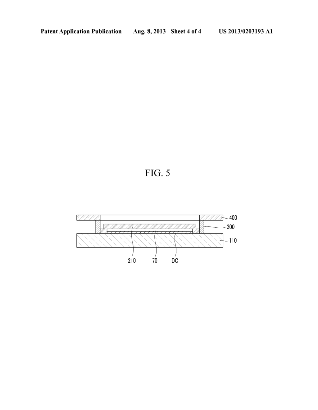 ORGANIC LIGHT EMITTING DIODE DISPLAY AND METHOD FOR MANUFACTURING THE SAME - diagram, schematic, and image 05