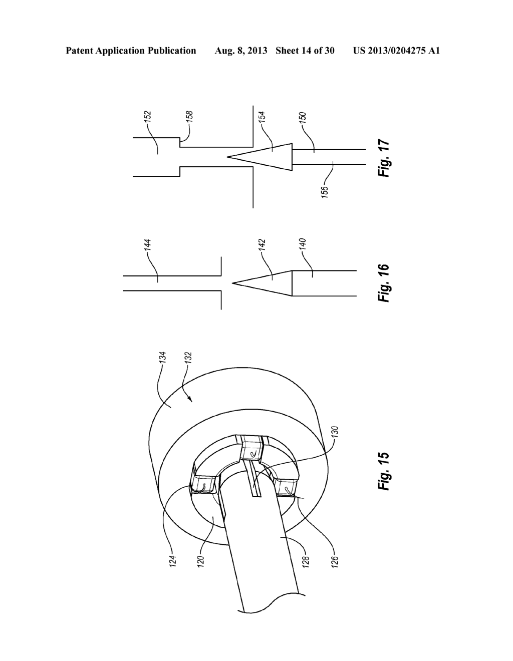 METHODS, DEVICES AND APPARATUS FOR PERFORMING A VASCULAR ANASTOMOSIS - diagram, schematic, and image 15