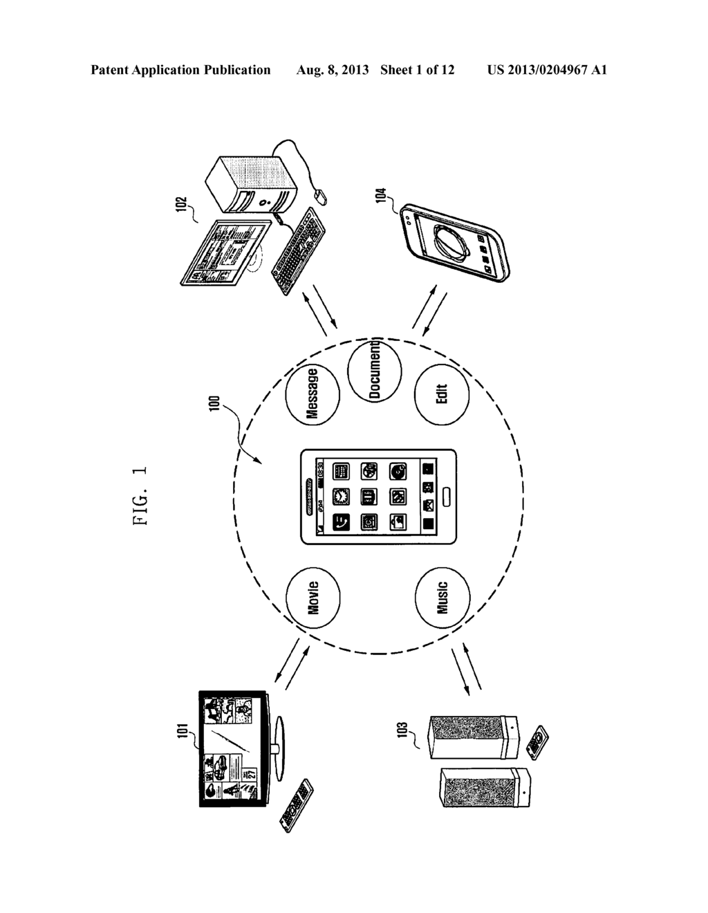 METHOD AND APPARATUS FOR INTEROPERABLY PERFORMING SERVICES AND SYSTEM     SUPPORTING THE SAME - diagram, schematic, and image 02