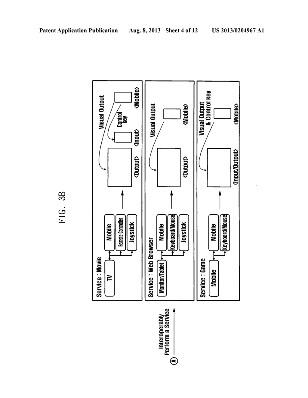 METHOD AND APPARATUS FOR INTEROPERABLY PERFORMING SERVICES AND SYSTEM     SUPPORTING THE SAME - diagram, schematic, and image 05