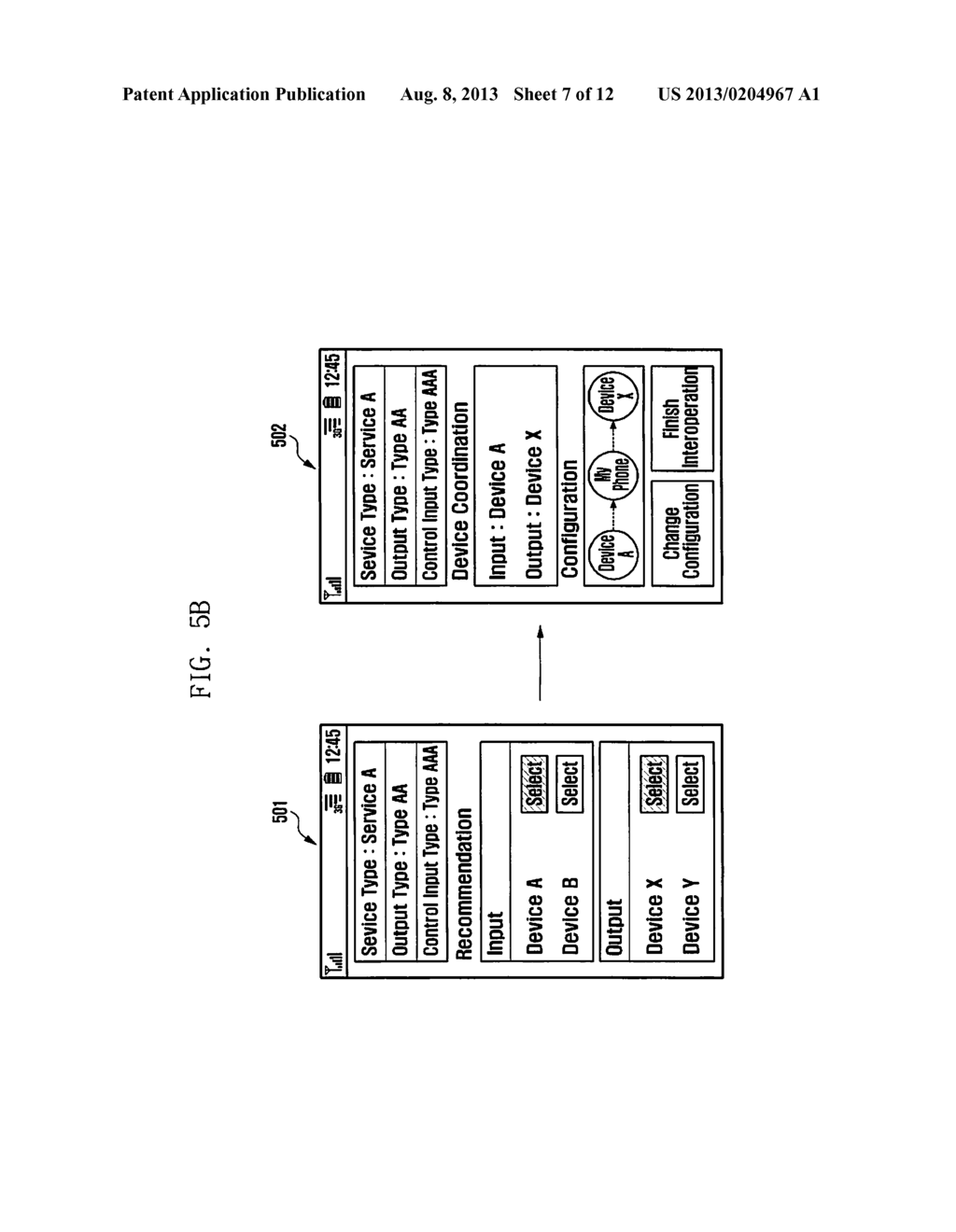 METHOD AND APPARATUS FOR INTEROPERABLY PERFORMING SERVICES AND SYSTEM     SUPPORTING THE SAME - diagram, schematic, and image 08