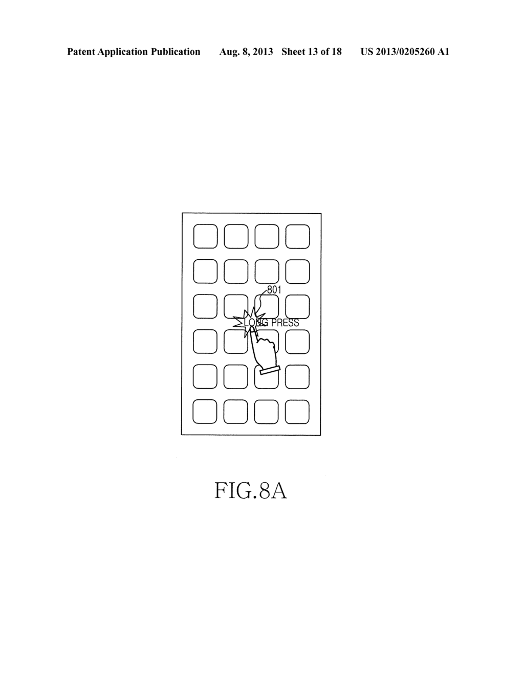 METHOD AND APPARATUS FOR MANAGING AN APPLICATION IN A MOBILE ELECTRONIC     DEVICE - diagram, schematic, and image 14
