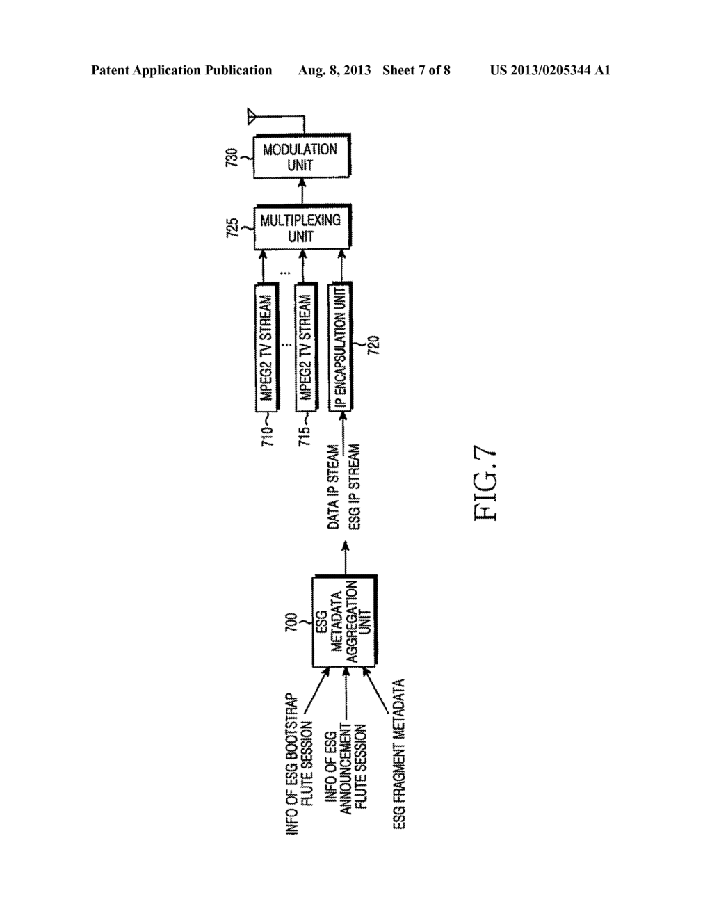 METHOD AND DIGITAL BROADCASTING SYSTEM FOR TRANSMITTING AND RECEIVING ESG - diagram, schematic, and image 08