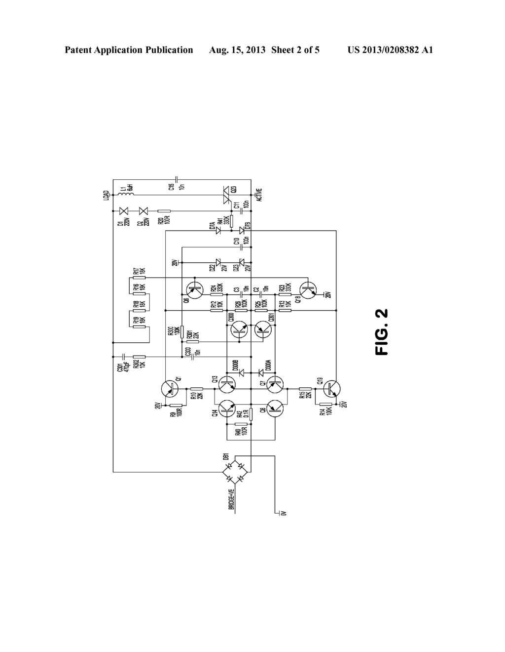 Dimmer Circuit With Improved Inductive Load Imbalance Protection Diagram Schematic And Image 03