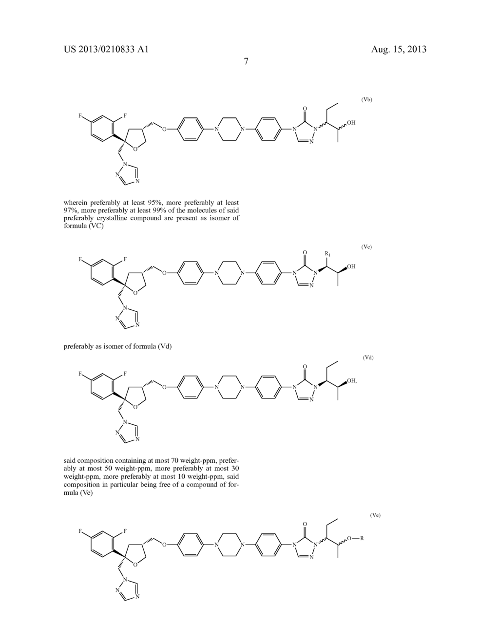 PROCESS FOR THE PREPARATION OF CHIRAL TRIAZOLONES - diagram, schematic, and image 13
