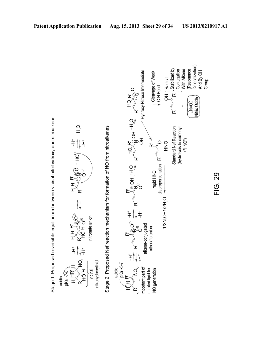 Nitrated Lipids and Methods of Making and Using Thereof - diagram, schematic, and image 30
