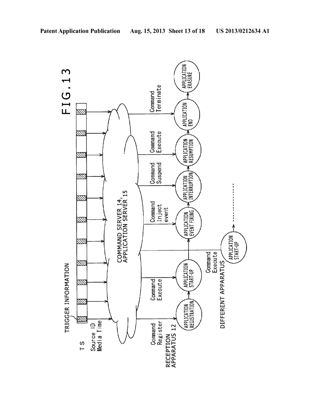 RECEPTION APPARATUS, RECEPTION METHOD, PROGRAM AND INFORMATION PROCESSING     SYSTEM - diagram, schematic, and image 14