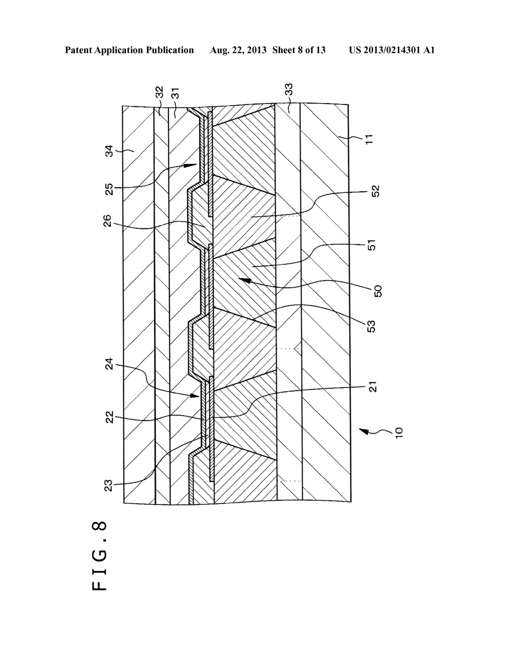 DISPLAY APPARATUS AND METHOD FOR MANUFACTURING DISPLAY APPARATUS - diagram, schematic, and image 09