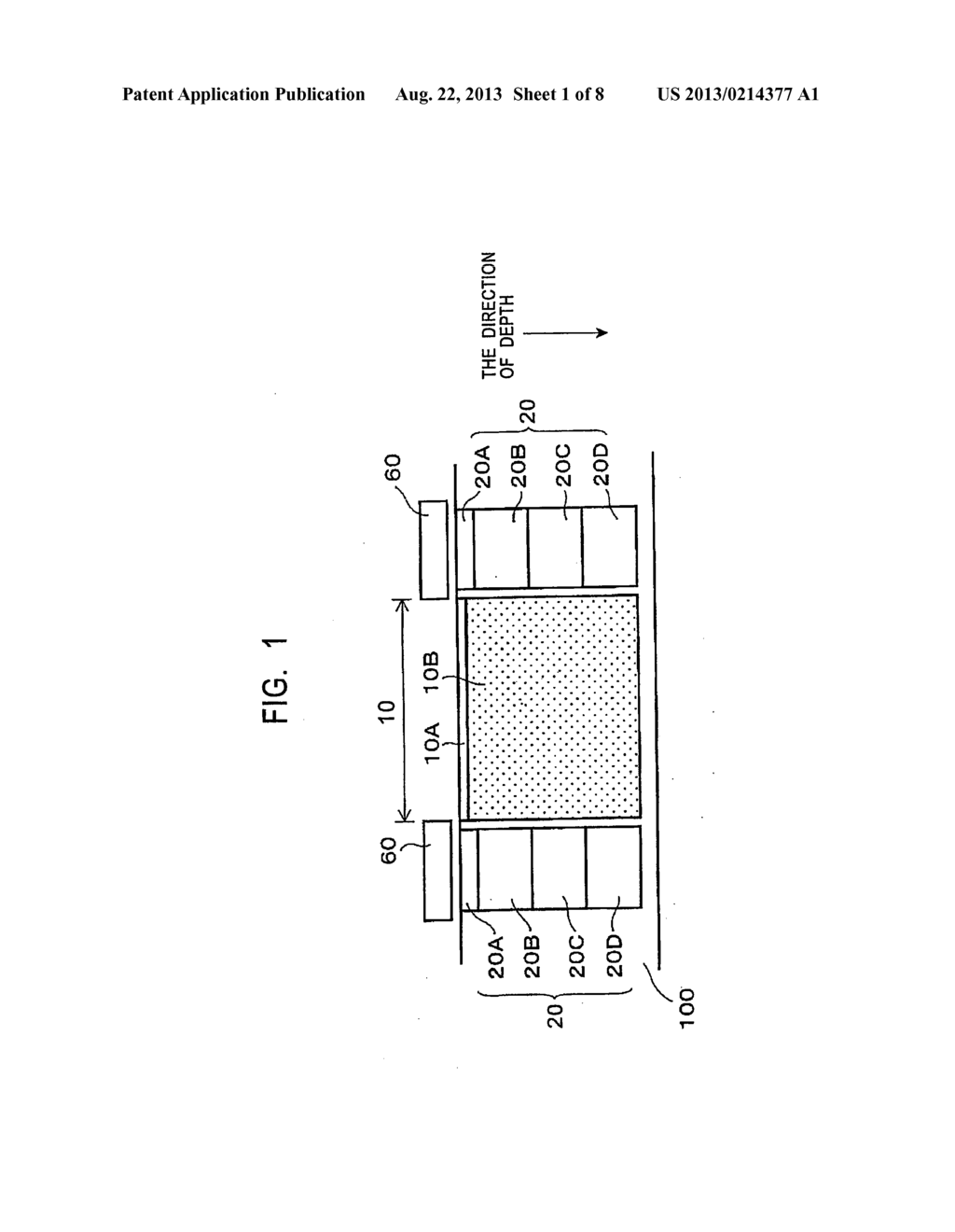 SOLID-STATE IMAGING DEVICE WITH CHANNEL STOP REGION WITH MULTIPLE IMPURITY     REGIONS IN DEPTH DIRECTION AND METHOD FOR MANUFACTURING THE SAME - diagram, schematic, and image 02