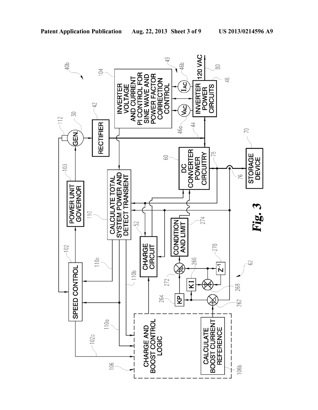 MANAGEMENT OF AN ELECTRIC POWER GENERATION AND STORAGE SYSTEM - diagram, schematic, and image 04