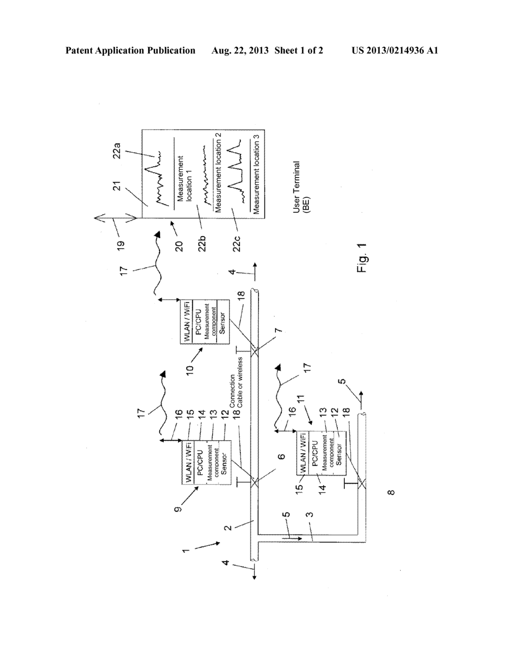 Device For Leak Detection In A Branched Pipe System Of Water Alarm Panel Wiring Diagram Network Schematic And Image 02