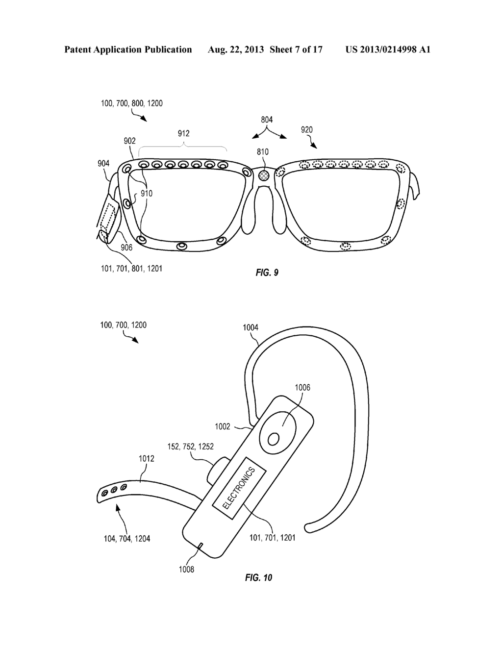 Head-Mounted Peripheral Vision Display Systems And Methods - diagram, schematic, and image 08