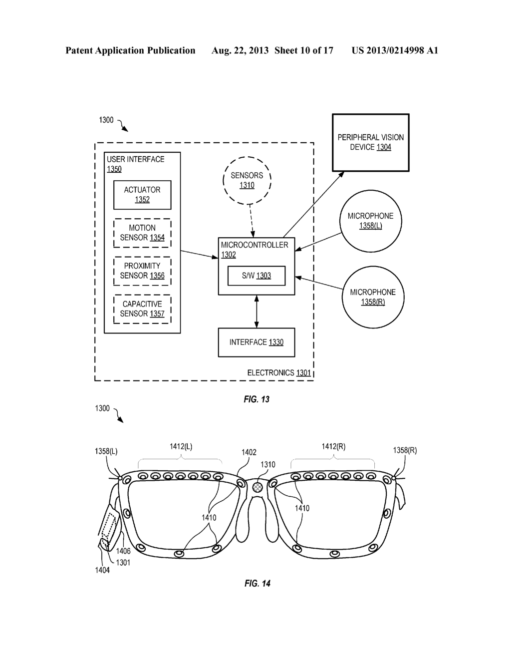 Head-Mounted Peripheral Vision Display Systems And Methods - diagram, schematic, and image 11