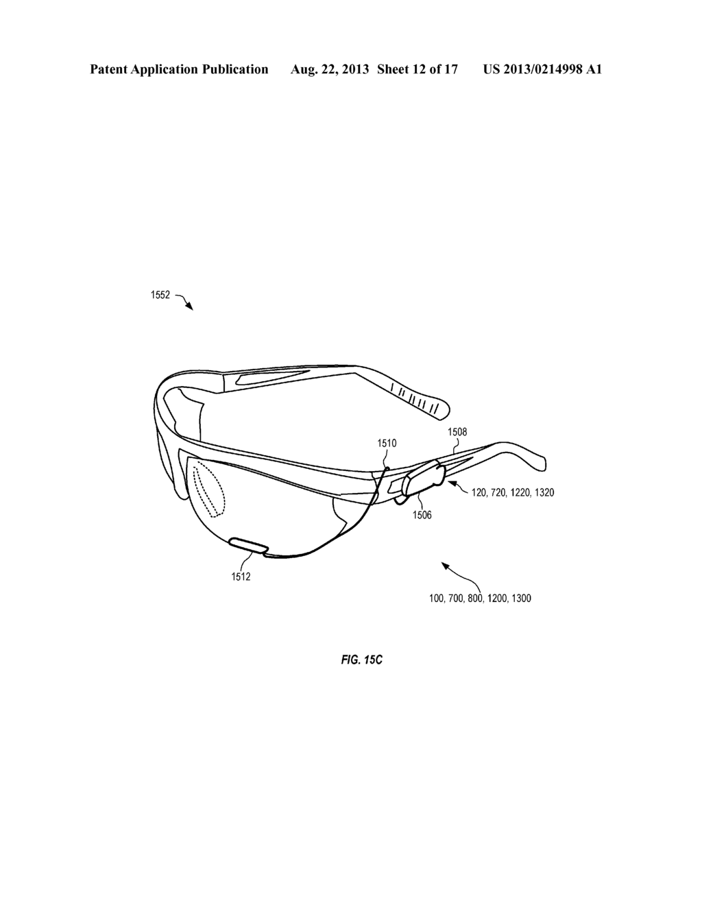 Head-Mounted Peripheral Vision Display Systems And Methods - diagram, schematic, and image 13