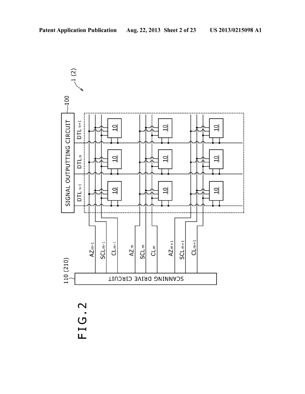SCANNING DRIVE CIRCUIT AND DISPLAY DEVICE INCLUDING THE SAME - diagram, schematic, and image 03
