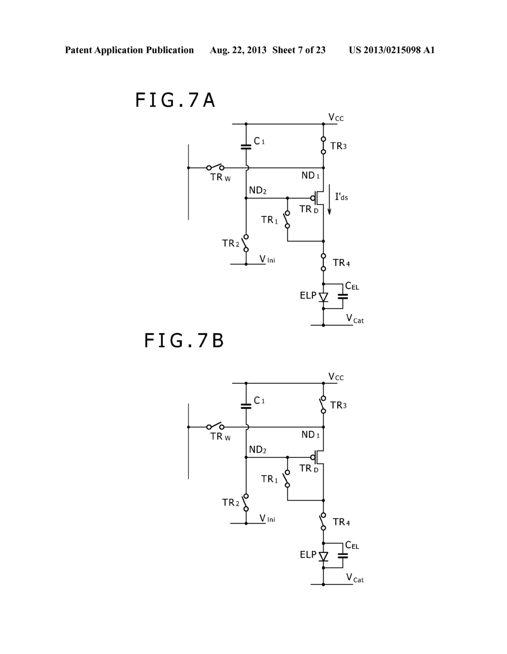 SCANNING DRIVE CIRCUIT AND DISPLAY DEVICE INCLUDING THE SAME - diagram, schematic, and image 08