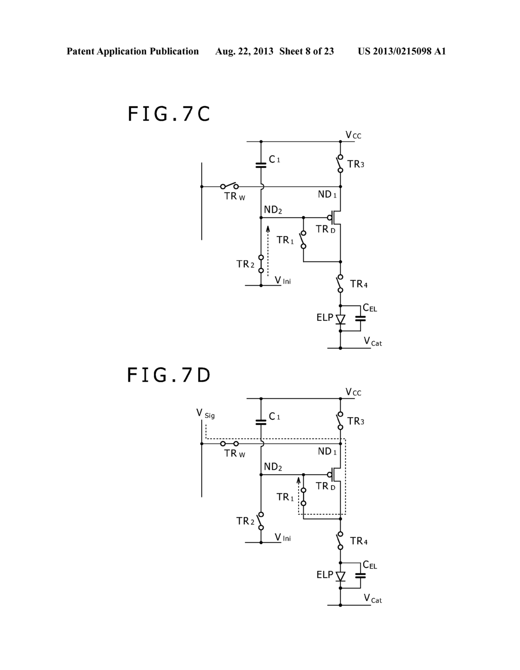 SCANNING DRIVE CIRCUIT AND DISPLAY DEVICE INCLUDING THE SAME - diagram, schematic, and image 09