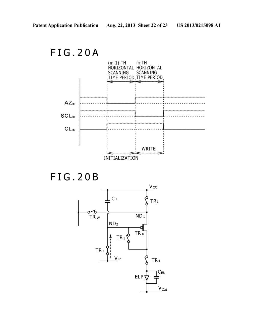 SCANNING DRIVE CIRCUIT AND DISPLAY DEVICE INCLUDING THE SAME - diagram, schematic, and image 23