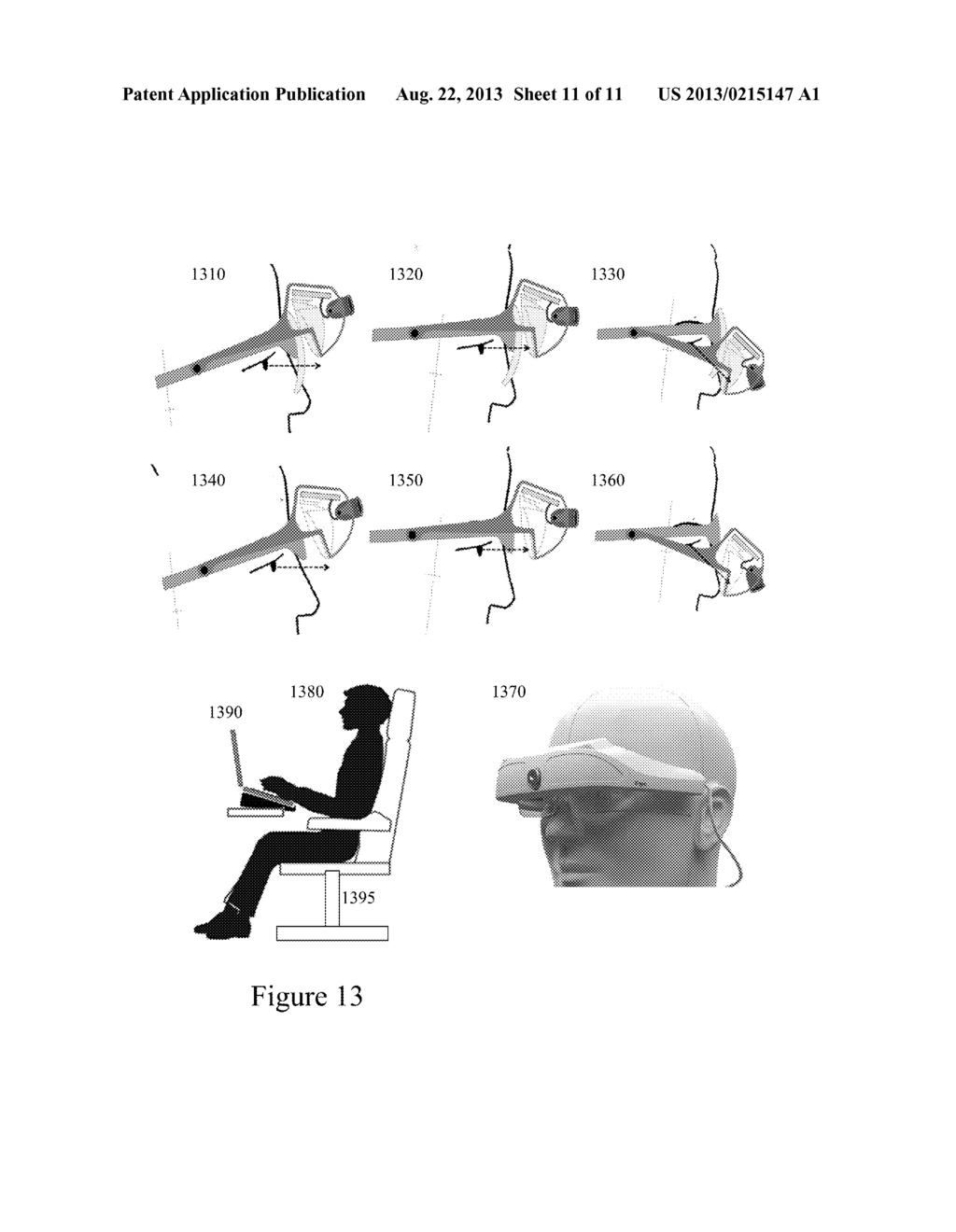 Apparatus and Method for Enhancing Human Visual Performance in a Head Worn     Video System - diagram, schematic, and image 12