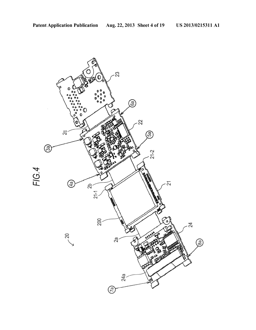 CAMERA DEVICE, ELECTRONIC APPARATUS AND FLEXIBLE CHASSIS - diagram, schematic, and image 05
