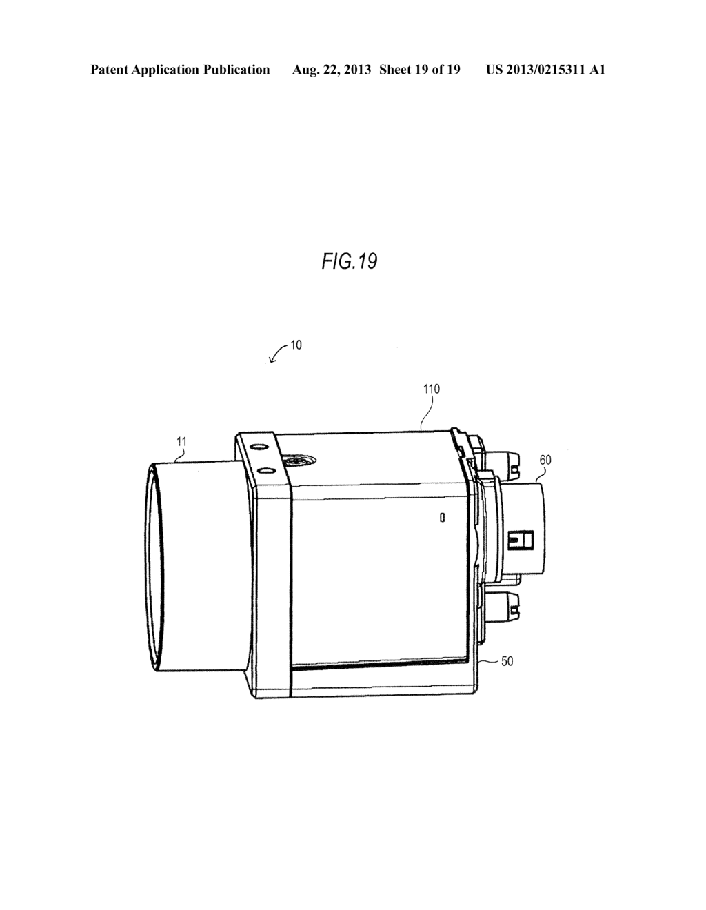CAMERA DEVICE, ELECTRONIC APPARATUS AND FLEXIBLE CHASSIS - diagram, schematic, and image 20