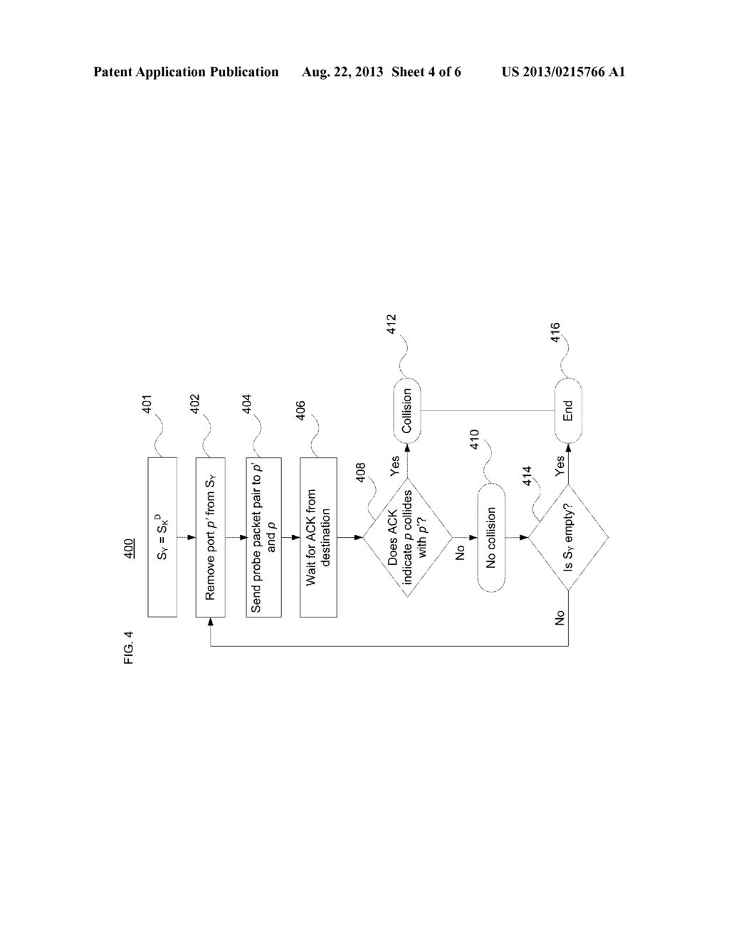 SYSTEM AND METHOD FOR IDENTIFYING MULTIPLE PATHS BETWEEN NETWORK NODES - diagram, schematic, and image 05