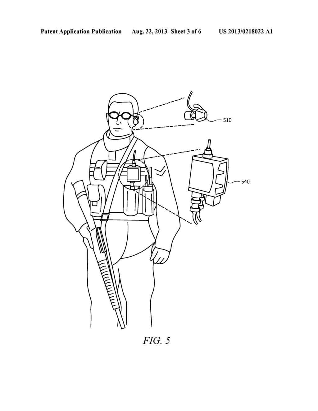 Personal Protective Equipment with Integrated Physiological Monitoring - diagram, schematic, and image 04