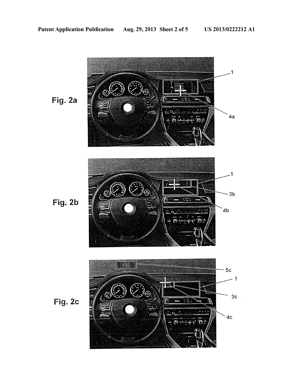 Motor Vehicle Having a Device for Influencing the Viewing Direction of the     Driver - diagram, schematic, and image 03