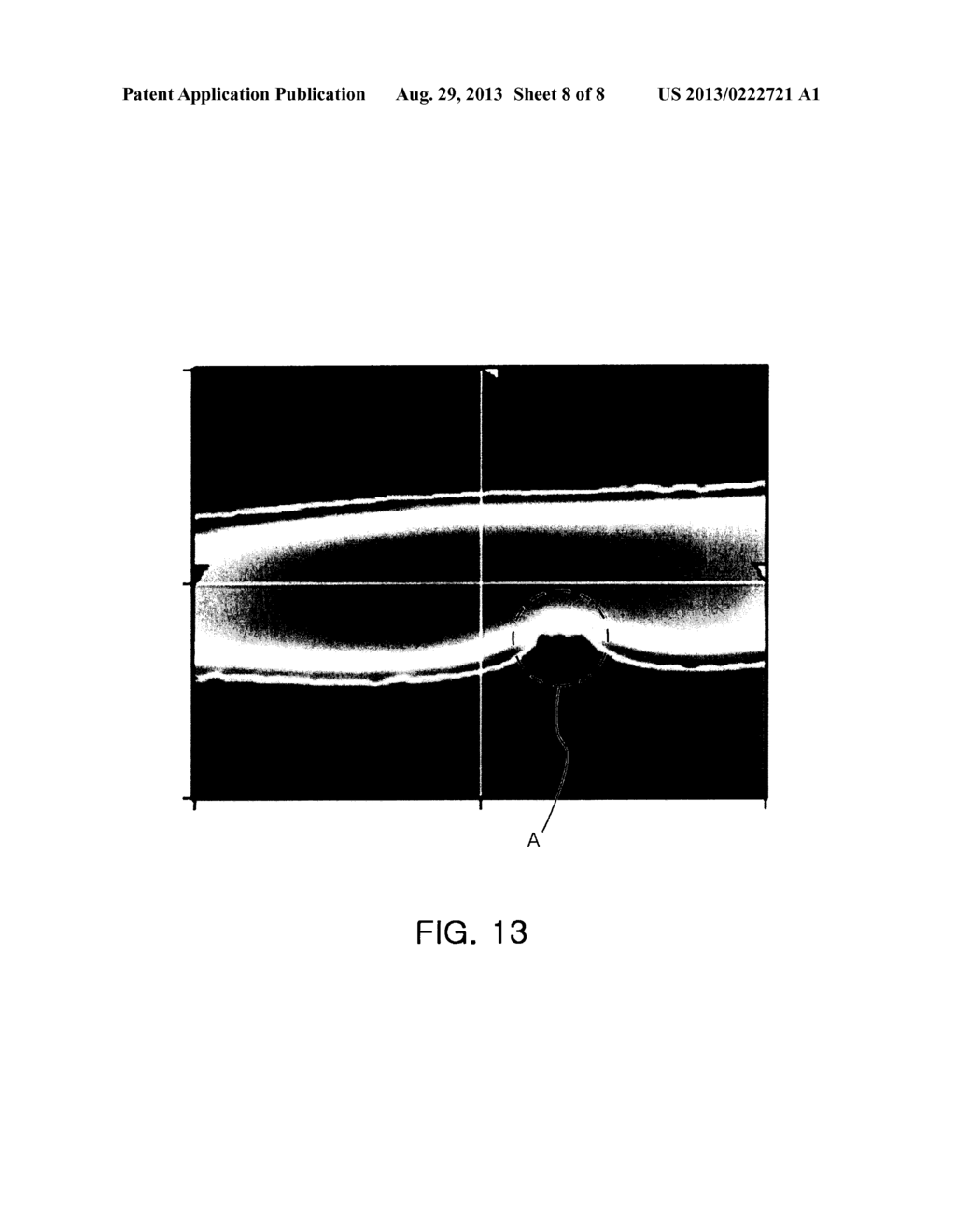 OPTICAL FILTER FOR A STEREOSCOPIC DISPLAY DEVICE AND STEREOSCOPIC DISPLAY     DEVICE COMPRISING THE SAME - diagram, schematic, and image 09