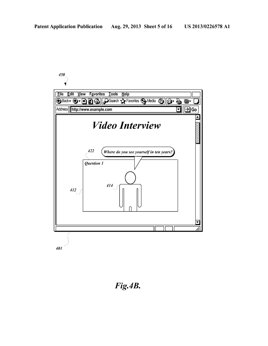 ASYNCHRONOUS VIDEO INTERVIEW SYSTEM - diagram, schematic, and image 06