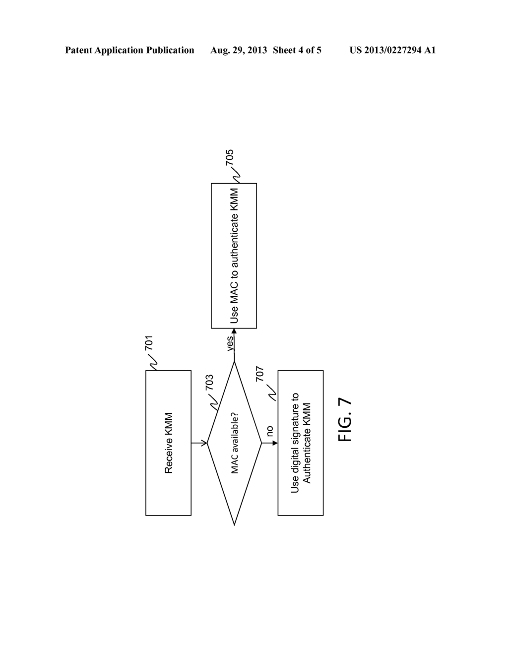 COMMUNICATION PROTOCOL FOR SECURE COMMUNICATIONS SYSTEMS - diagram, schematic, and image 05