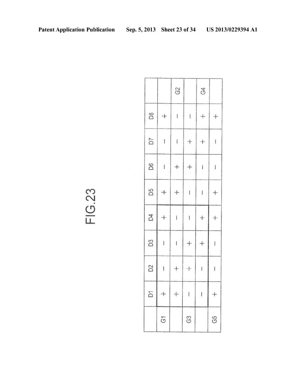DISPLAY DEVICE, DRIVING METHOD THEREOF, TERMINAL DEVICE, AND DISPLAY PANEL - diagram, schematic, and image 24