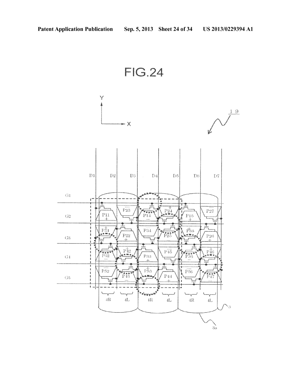 DISPLAY DEVICE, DRIVING METHOD THEREOF, TERMINAL DEVICE, AND DISPLAY PANEL - diagram, schematic, and image 25